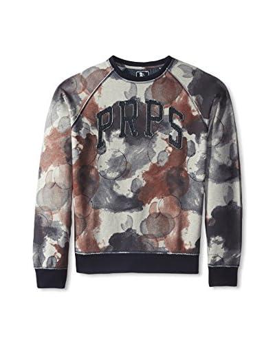 PRPS Goods & Co. Men's Pegasus Ink Blotch Sweatshirt