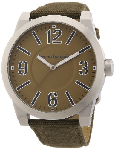 Bruno Banani Women's Quartz Watch TARAS BIG BR21107 with Leather Strap