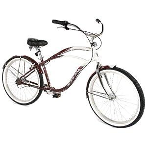Sonoma Men's Chainless Drive Evolution Oasis Beach Cruiser Bike