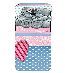 LG G PRO LITE BIG BEAR HUGS Back Cover by PRINTSWAG