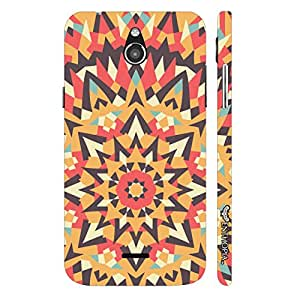 Infocos M2 Abstract Art 1 designer mobile hard shell case by Enthopia
