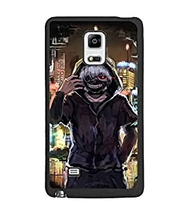 PrintDhaba Funny Image D-3828 Back Case Cover for SAMSUNG GALAXY NOTE 4 EDGE (Multi-Coloured)