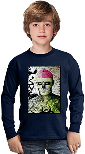 rick-genest-brain-amazing-kids-long-sleeved-shirt-by-true-fans-apparel-100-cotton-ideal-for-active-b