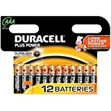Duracell Duralock Plus Power Alkaline Battery AAA x12 LR03