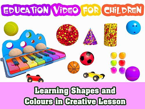 Learning Shapes and Colours in Creative Lesson