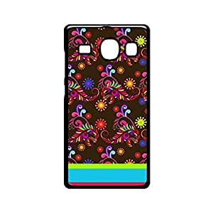 Vibhar printed case back cover for Samsung Galaxy E7 BrownPattern