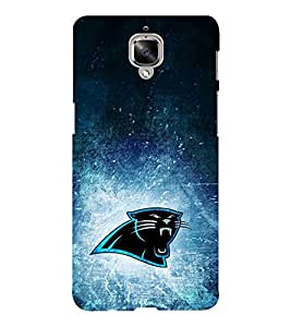 EPICCASE roaring panther Mobile Back Case Cover For OnePlus Three (Designer Case)