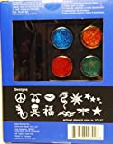 Glimmerart Pop Classic Boy and Girl Professional Glitter Tattoo