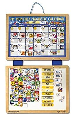 Melissa & Doug Deluxe Magnetic Calendar