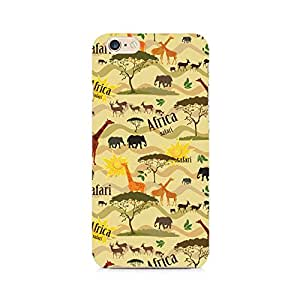 Motivatebox- African Safari Premium Printed Case For Apple iPhone 6/6s -Matte Polycarbonate 3D Hard case Mobile Cell Phone Protective BACK CASE COVER. Hard Shockproof Scratch-