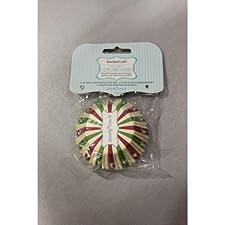 Kitchen Craft - Capsulas Cupcake Stars, 60 Unids