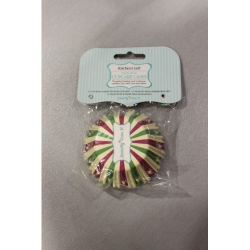 Kitchen Craft - Capsulas Cupcake Stars, 60 Unids