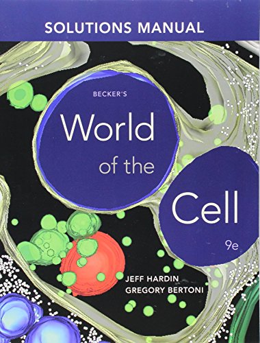 Becker world of the cell solutions manual