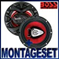 Boss CER 653 16,5cm Lautsprecher für Mercedes E-Klasse Typ W210 1995-2002 Türen vorne von Boss Audio U.S.A + Zubehör bei Reifen Onlineshop