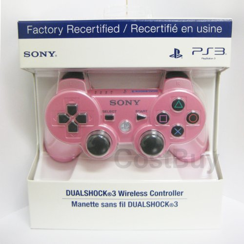 Sony Playstation 3 Dualshock 3 Wireless Controller (Candy Pink) Factory Recertified