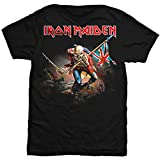 Iron Maiden - Mens The Trooper T-shirt Large Black