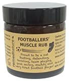 Remedinature Footballers' Muscle Rub 60ml, Tired Body Feet Back Ache Pain, Natural Relief Massage Balm, Ideal Gift for Football Lovers