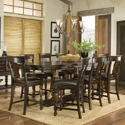 Superieur Legacy Classic Furniture Havana 7 Pc. Rectangular Counter Height Dining  Table Set   LGC844: Compare Prices, Reviews U0026 Buy Online