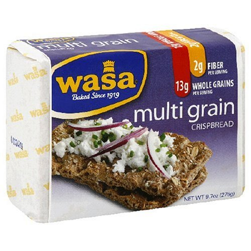 Wasa Crispbread, Multi Grain, 9.7-Ounce Boxes (Pack of 12)