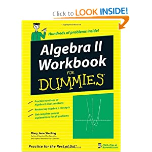 Algebra II For Dummies by Mary Jane Sterling PDF eBook