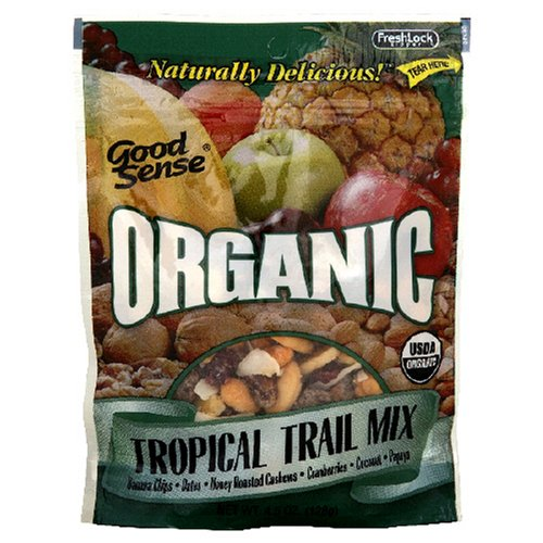Buy Good Sense Organic Joggers Delite All Fruit Mix, 6-Ounce Bag (Pack of 6) (Good Sense, Health & Personal Care, Products, Food & Snacks, Snacks Cookies & Candy, Snack Food, Trail Mix)