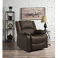 Relax A Lounger Warren Reclining Chair (Chocolate)