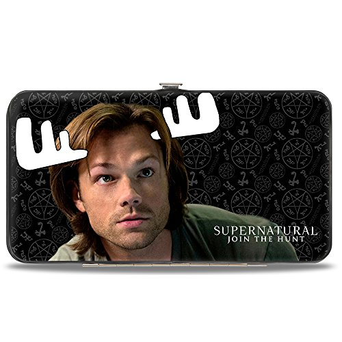 Supernatural Moose and Squirrel Hinged Wallet (Misha Collins Merchandise compare prices)