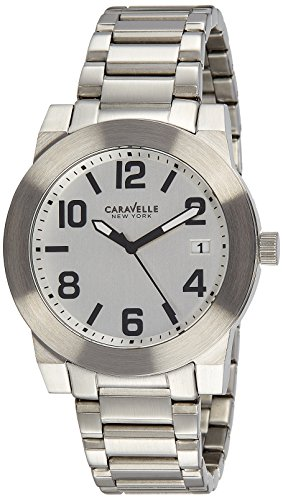 Caravelle New York Three-Hand Stainless Steel Men's watch #43B142