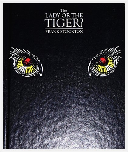 the use of literary devices in the lady or the tiger by frank stockton