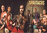 Spartacus - Blood And Sand Autographed Signed A4 Photo Poster