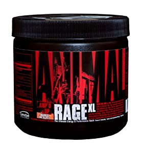 Universal Nutrition Animal Rage Xl, Mango Unchained, 30 Count