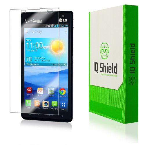 Iq Shield Liquidskin - Lg Lucid 2 Screen Protector With Lifetime Replacement Warranty - High Definition (Hd) Ultra Clear Phone Smart Film - Premium Protective Screen Guard - Extremely Smooth / Self-Healing / Bubble-Free Shield - Kit Comes In Frustration-F