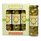 Maynard&Child Premium Variety Gift Pack of Stuffed Blue Cheese, Harissa & Picante Olives