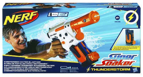 nerf super soaker thunderstorm pistolet nerf. Black Bedroom Furniture Sets. Home Design Ideas