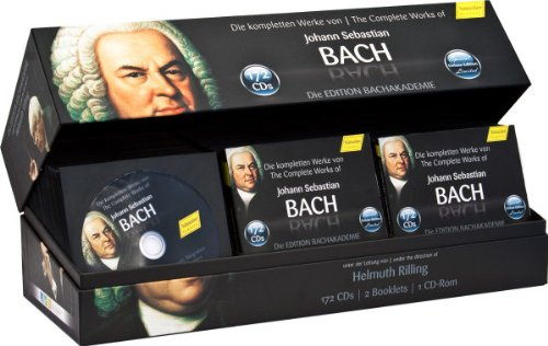 The Complete Works Of Johann Sebastian Bach   Bachakademie 10th Anniversary  Special Collection