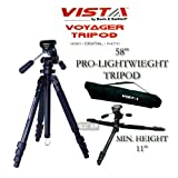 Davis & Sanford VOYAGER3H Voyager Tripod with 3 Way Pan and Tilt Head