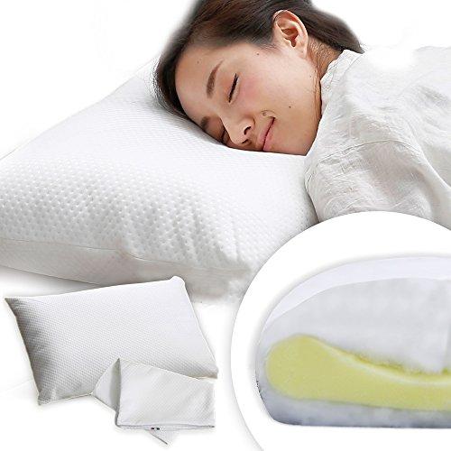 枕 まくら イタリア製 オルトペディコ枕 高反発 洗える日本人に合わせたサイズ 65×44cm 枕カバー付