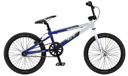 GT Power Series XL BMX Race Bike White/Blue 20