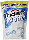 Trident White Peppermint Bag 180-Count