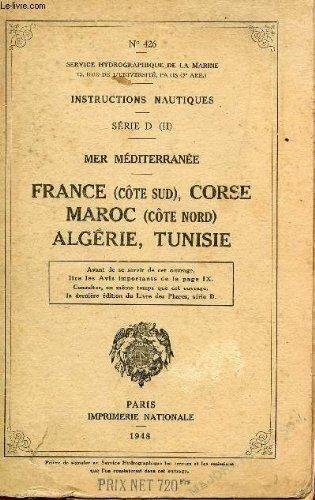 INSTRUCTIONS NAUTIQUES N°426
