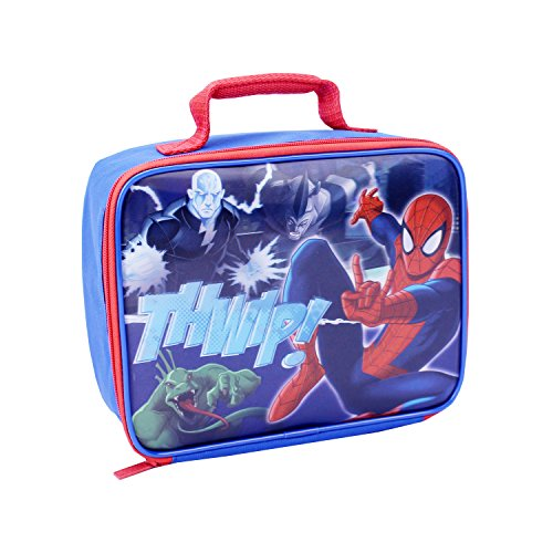Global Design Concepts Spiderman Lunch Kit, Blue