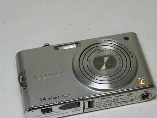 パナソニック LUMIX プレシャスシルバー DMC-FX66-S