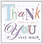 Simon Elvin 6 open thank you cards &...