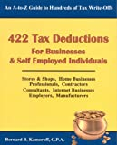 img - for 422 Tax Deductions for Businesses and Self Employed Individuals (422 Tax Deductions for Businesses & Self-Employed Individuals) book / textbook / text book