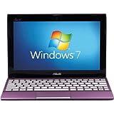 Asus Eee PC X101CH 10.1-inch Netbook (Purple) - (Intel Atom N2600 1.6GHz, 1GB RAM, 320GB HDD, LAN, WLAN, Webcam, Integrated Graphics, Windows 7 Starter)