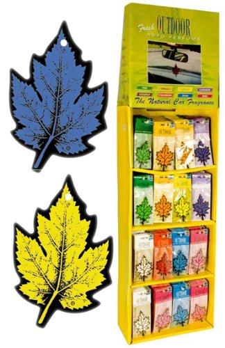 Leaf Design Hanging Car Air Freshener (Various Scents)