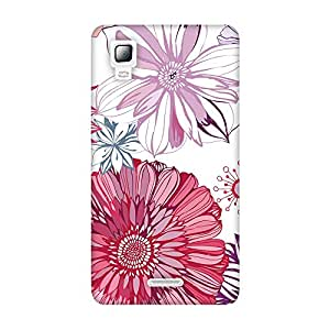 FASHEEN Premium Designer Soft Case Back Cover for Micromax Canvas Doodle 3 A102
