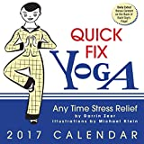 img - for Quick Fix Yoga 2017 Day-to-Day Calendar: Any Time Stress Relief book / textbook / text book
