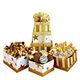California Delicious Golden Star Gift Tower