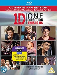 One Direction: This Is Us (Blu-ray + UV Copy) [2013] [Region Free]